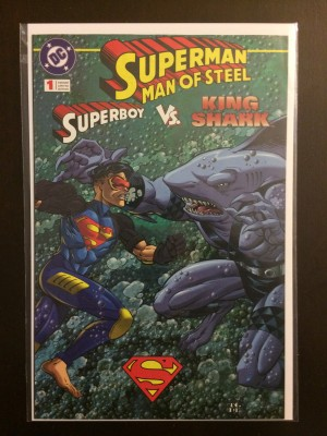 Superman Man of Steel Kenner #1a