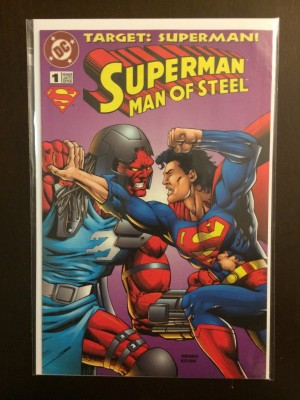 Superman Man of Steel Kenner #1b