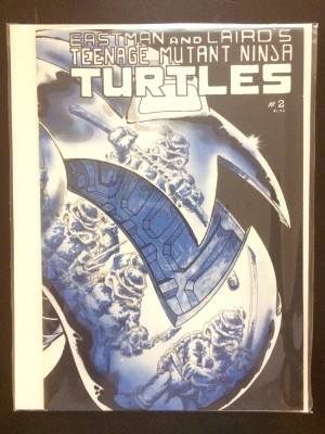 TMNT 1984 #2 2nd Print – a