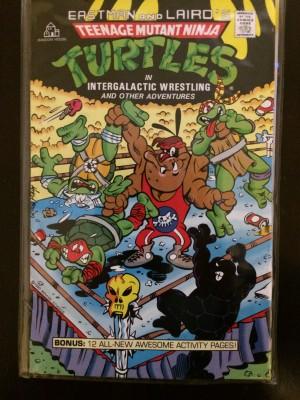 TMNT 1990 Integalactic Wrestling NN – a Sealed