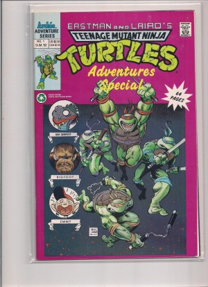 TMNT Adventures Special 1992 #1