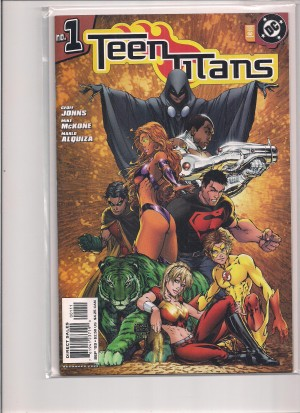 Teen Titans 2003 #1 Variant – a
