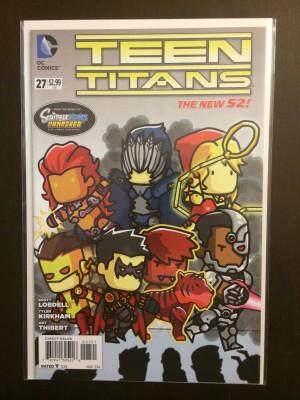 Teen Titans 2014 #27 Scribblenauts Variant – c