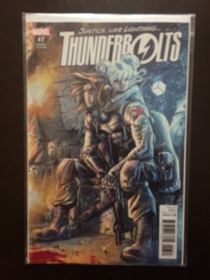 Thunderbolts 2016 #7 Variant – a