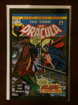 Tomb of Dracula 2004 #10 Reprint – a