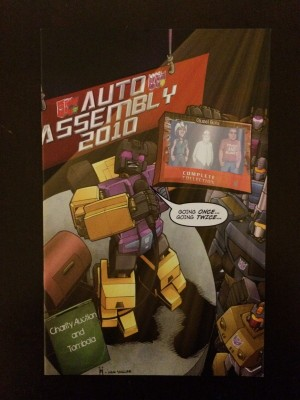 Transformers 2010 Auto Assembly #9 front – a