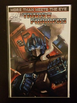 Transformers 2012 #9 – a