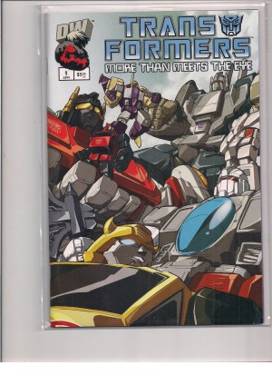 Transformers More Than Meets The Eye 2003 #1 – a
