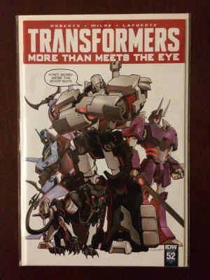 Transformers More Than Meets the Eye #52 RI – a