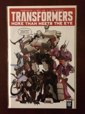 Transformers More Than Meets the Eye #52 RI – a