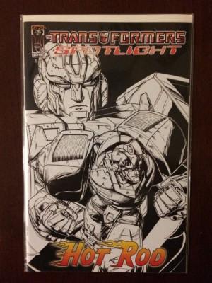 Transformers Spotlight Hot Rod 1-50 Var front