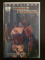 Transformers Spotlight Orion Pax #1 Variant - a