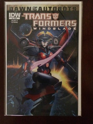 Transformers Winblade 2014 #1 – a