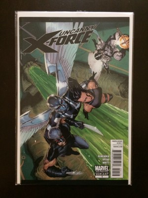 Uncanny X-Force #1 2nd Print Variant – a