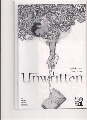 Unwritten 2009 #1 BW Variant Convention – 2-19-16