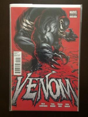 Venom 2011 #1 2nd Print – a