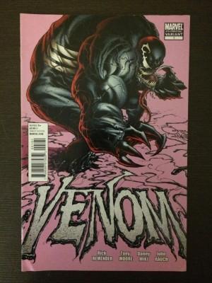 Venom 2011 #1 4TH Print – a – front