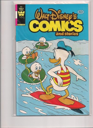 Whitman 1980 – Walt Disneys Comics and Stories #481 – a