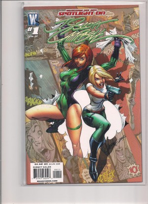 Wildstorm Fine Arts J Scott Campbell 2007 #1 – a