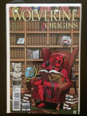 Wolverine Origins #45 Variant – a