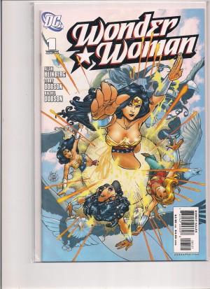Wonder Woman 2006 #1 Variant – a