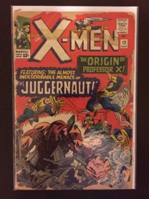 X-Men 1965 #12 Poor VG – 11-30-16