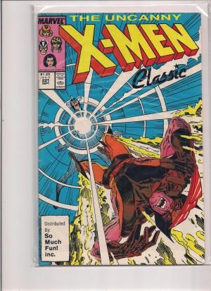 X-Men #221 So Much Fun Classic – VG – 4-29-16