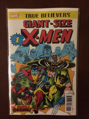 X-Men Giant 2017 #1 RP True Believers – a